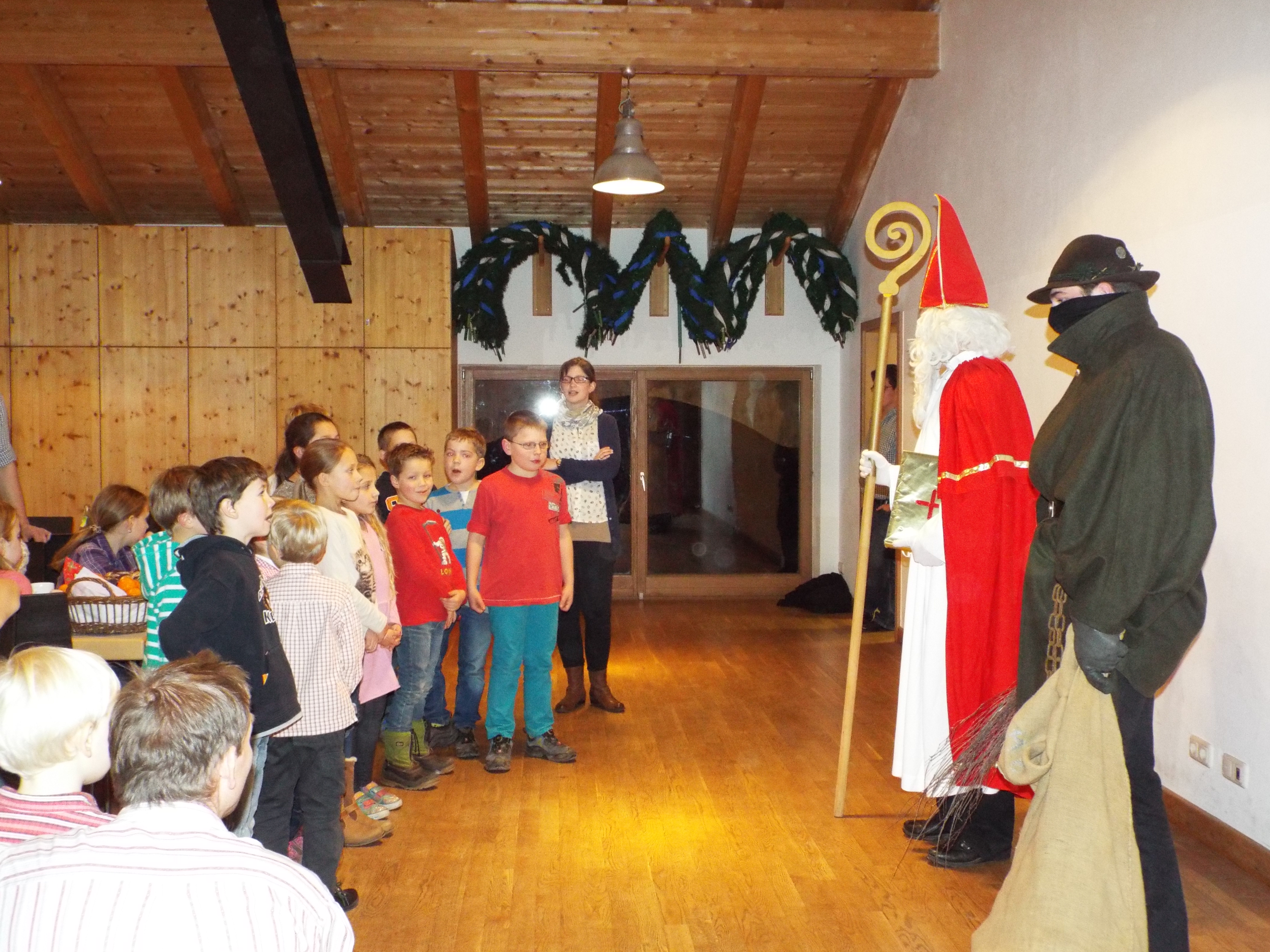 Nikolausfeier der Kinder- und Jugendgruppe